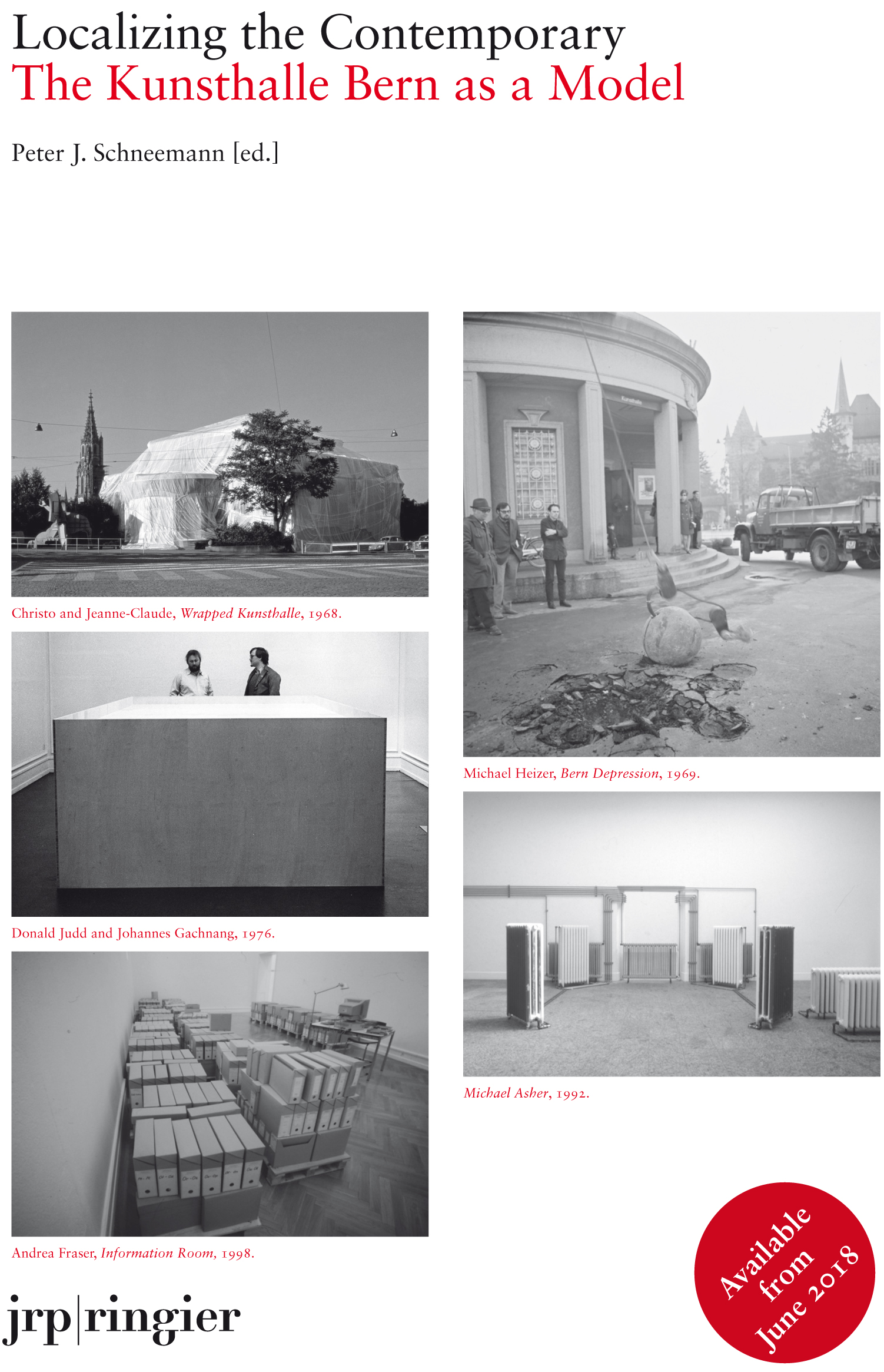 2018 7 Localizing The Contemporary The Kunsthalle Bern As A